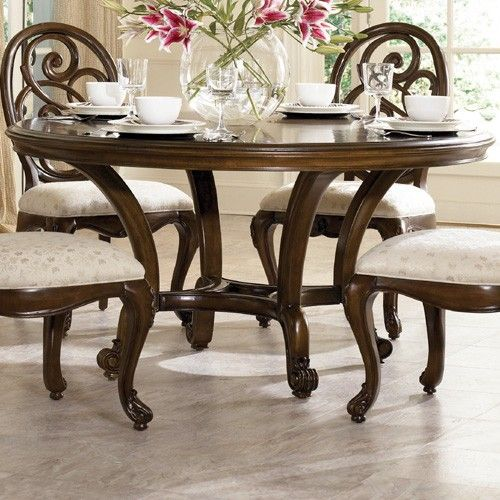 Ad 908 701r American Drew Jessica Mcclintock Couture 60 Inch Round Table 1575 00