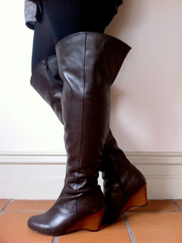 Wide Calf Knee High boots? Yes Please! :) | Fashion - Outfit Ideas ...