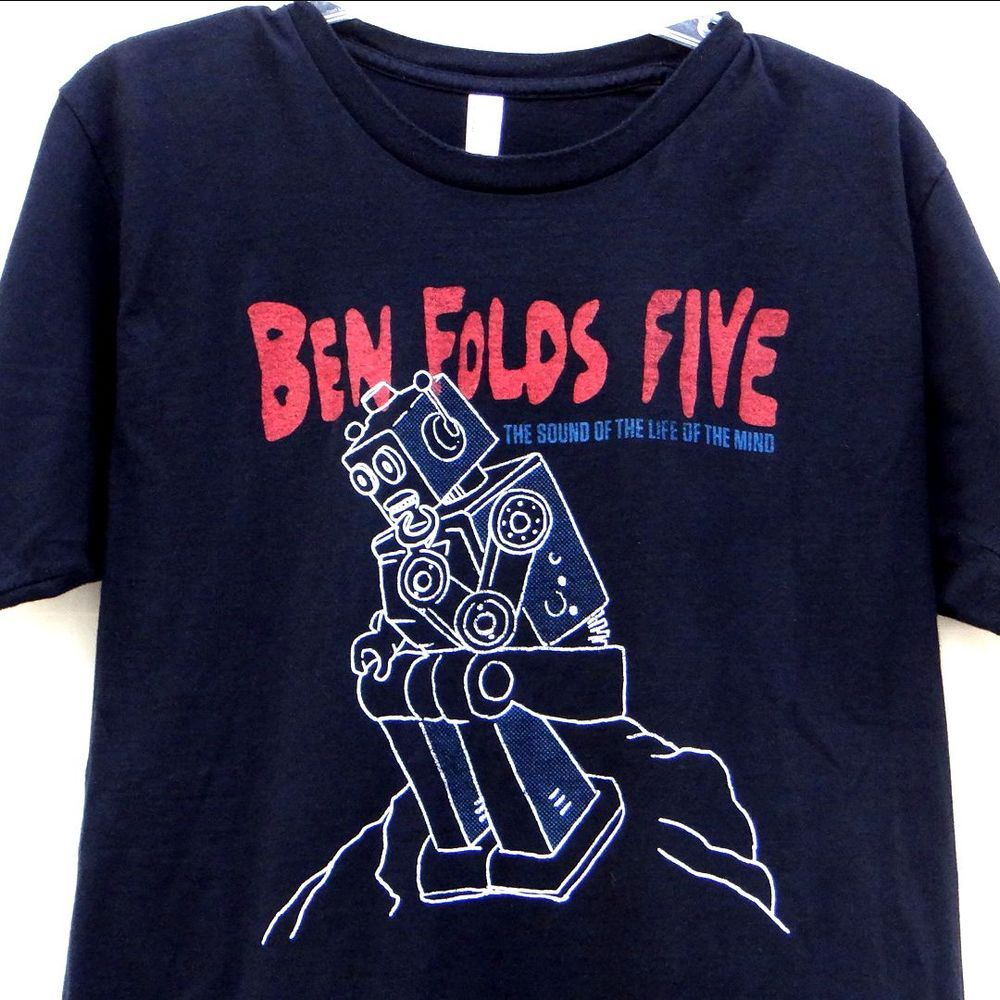 Black t shirt ben folds - The Sound Of The Life Of The Mind By Ben Folds Ben Folds Five Cd Oct 2012 Sony Music