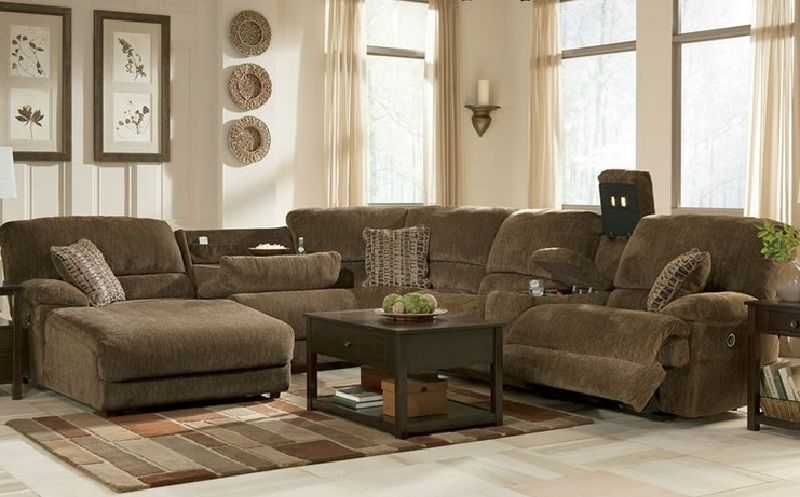 best fabric sectional sofas with chaise and recliner couches and rh pinterest ch