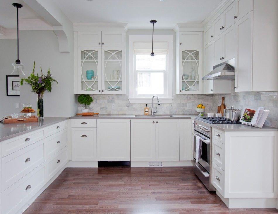 Meritkitchens  Manor Flat Paint On Mdf Matte Snow  Merit Unique Kitchen Design For Flats Inspiration Design