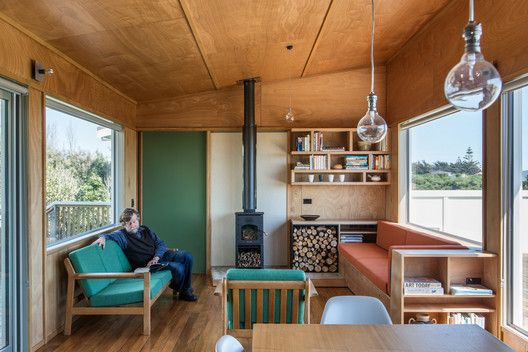 Gallery Of Field Way Bach Parsonson Architects 16 Plywood Interior Tiny House Interior Home