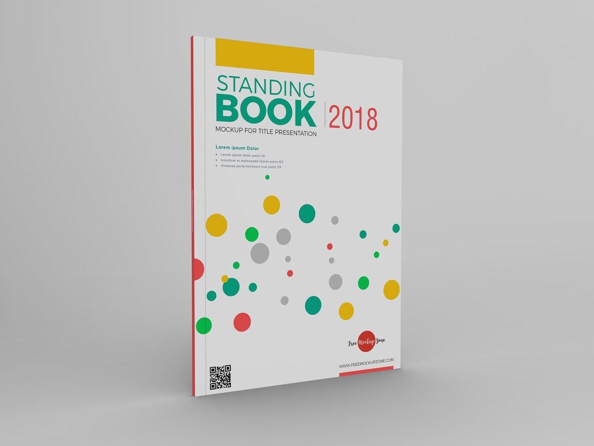 Free Standing Book Mockup Pixelsdesign Net Free Mockup Mockup Presentation