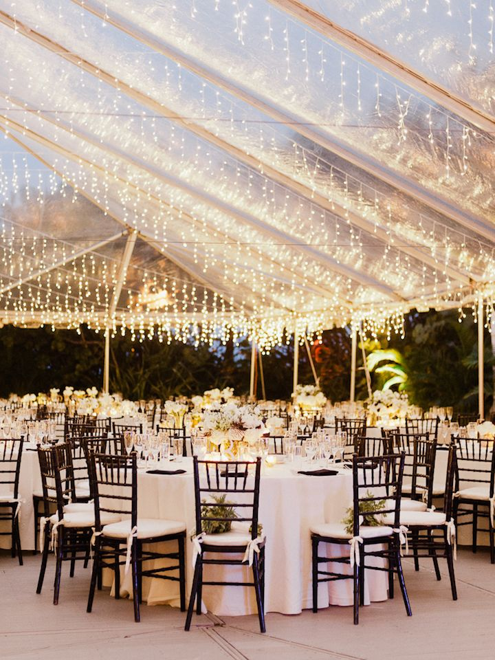 Tropical Miami Wedding At The Raleigh Hotel Wedding Reception