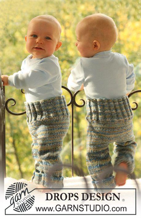 """DROPS bukser i 2 tråde """"Fabel"""". ~ DROPS Design"""