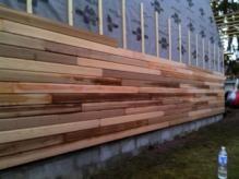 Pose De Bardage En Bois Naturel Ou Peint Sur Maison Ossature Bois Bardage Bois Exterieur Maison Ossature Bois Habillage Mur Exterieur