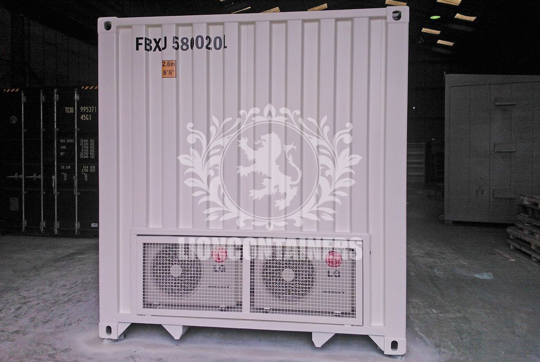 We supply air conditioning for containers. Perfect if you