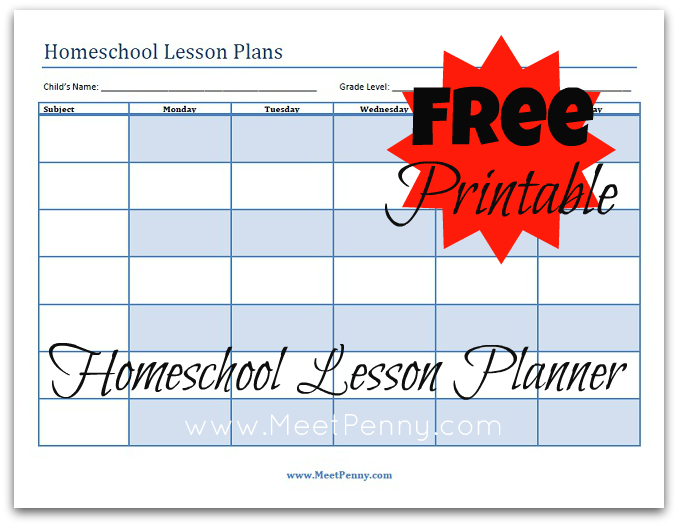Ultimate Free Homeschool Planning List Free Homeschool Planners
