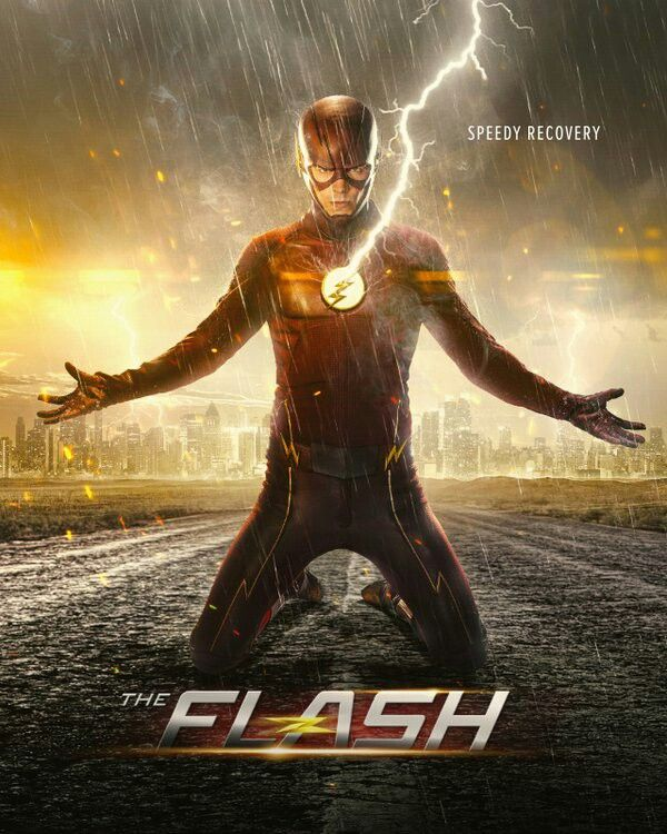 The Flash New Season 2 Poster Speed Recovery Com Imagens The