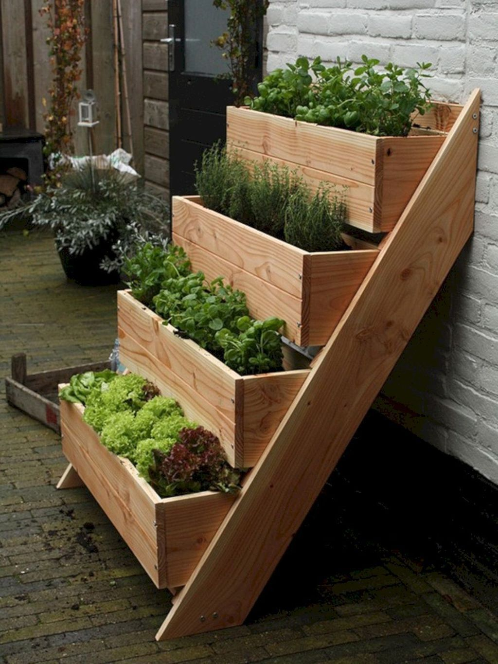 35 Inspiring Raised Garden Beds Best For Your Outdoor Decor #outdoorherbgarden