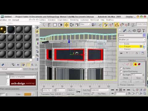 3ds max exterior modeling of a house 3ds max tutorial for 3d max tutorial