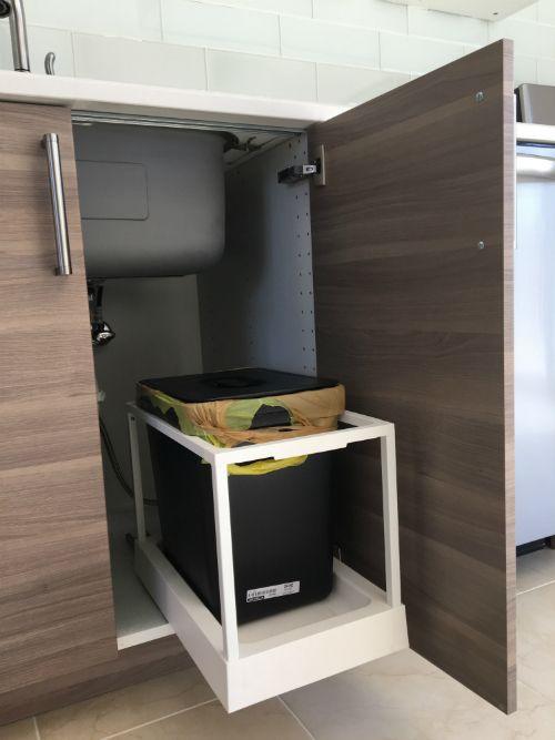 Ikea Trash Bin Cabinet Option 1 Ikea Kitchen Ikea Kitchen Design Kitchen Room Design