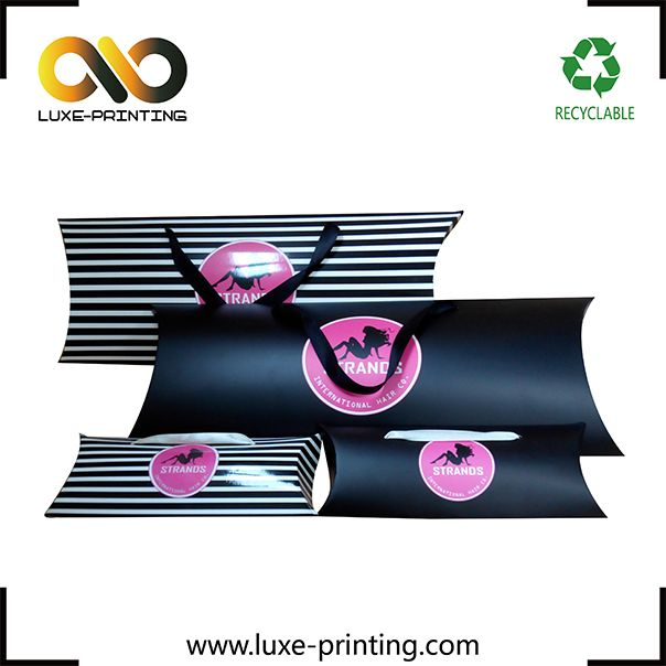 Manufacturer Custom Hair Extension Packaging Box Hair Weave