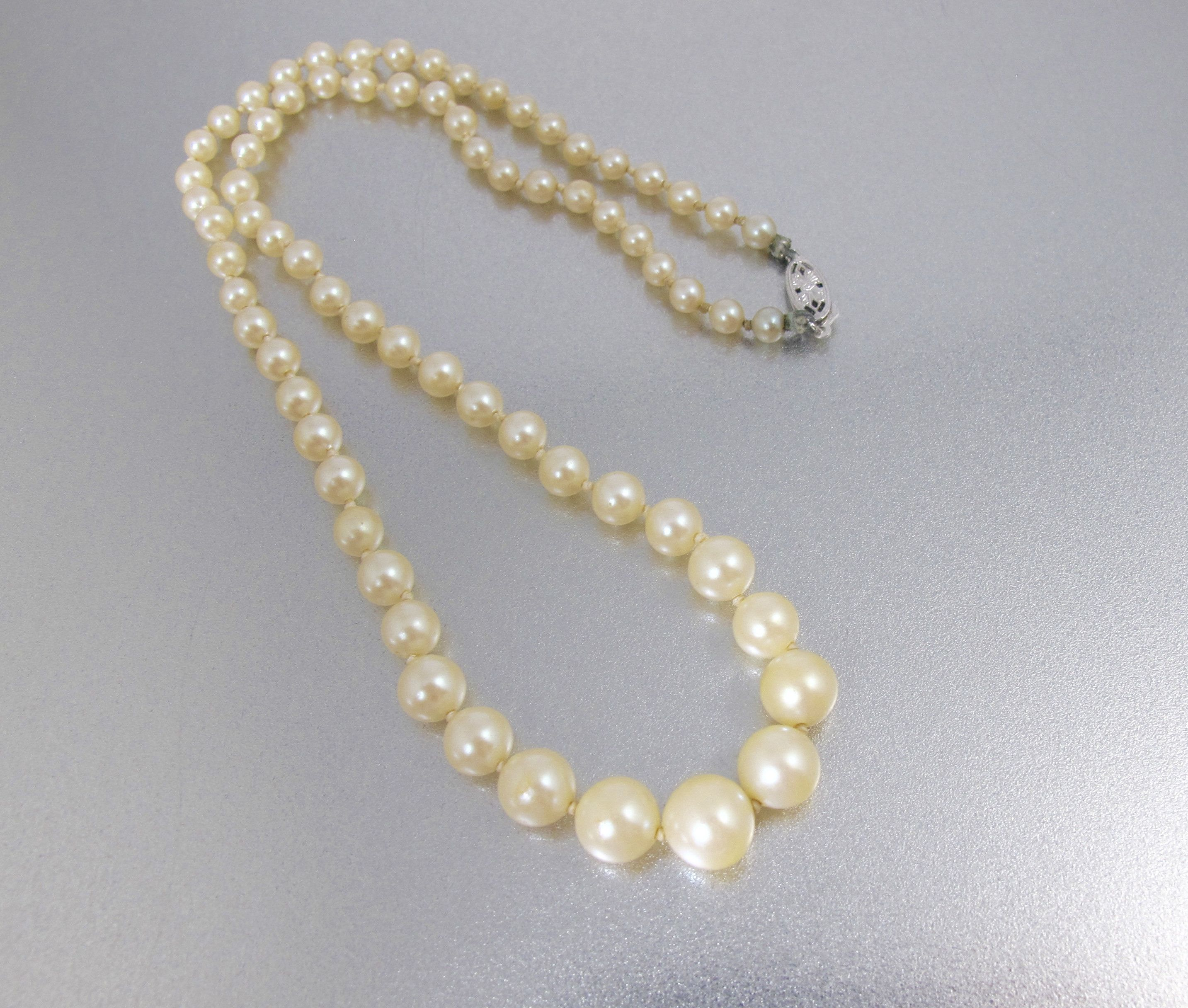 and pearl choker Layered necklace Sapphire Necklace with tiny pearls Sapphire teardrop set of 2 7*4 mm Yellow Solid gold 14K