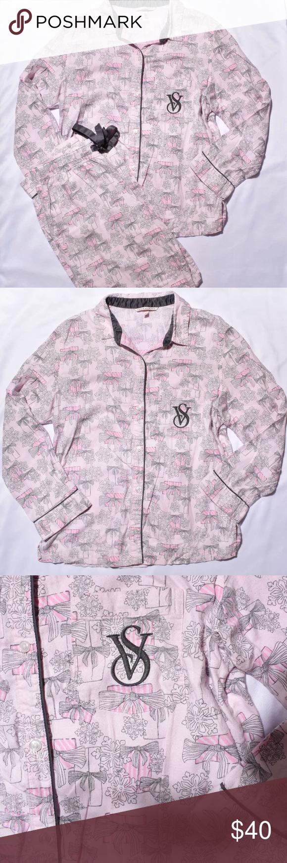 225a97f72470c Winter Pink Christmas Dreamer Flannel Pajama set | My Posh Picks ...