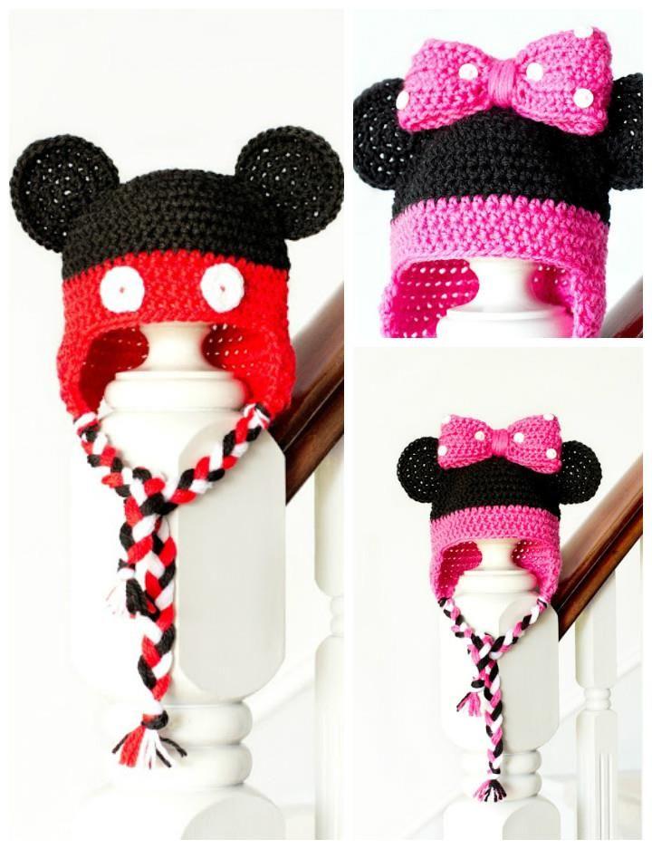 Crochet Baby Hats - 50 Free Crochet Hat Patterns | Baby hats ...