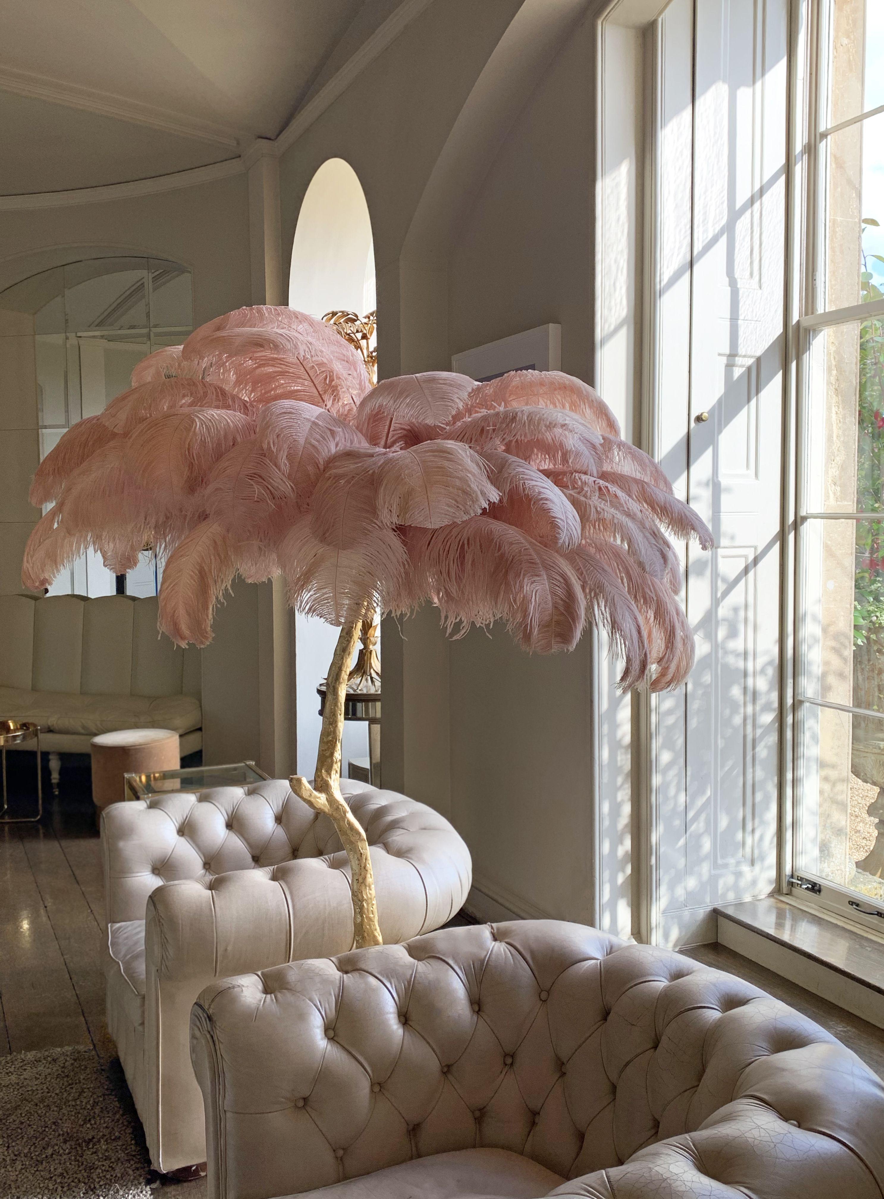 The Feather Floor Lamp in 8  Room design, Home decor, Salon