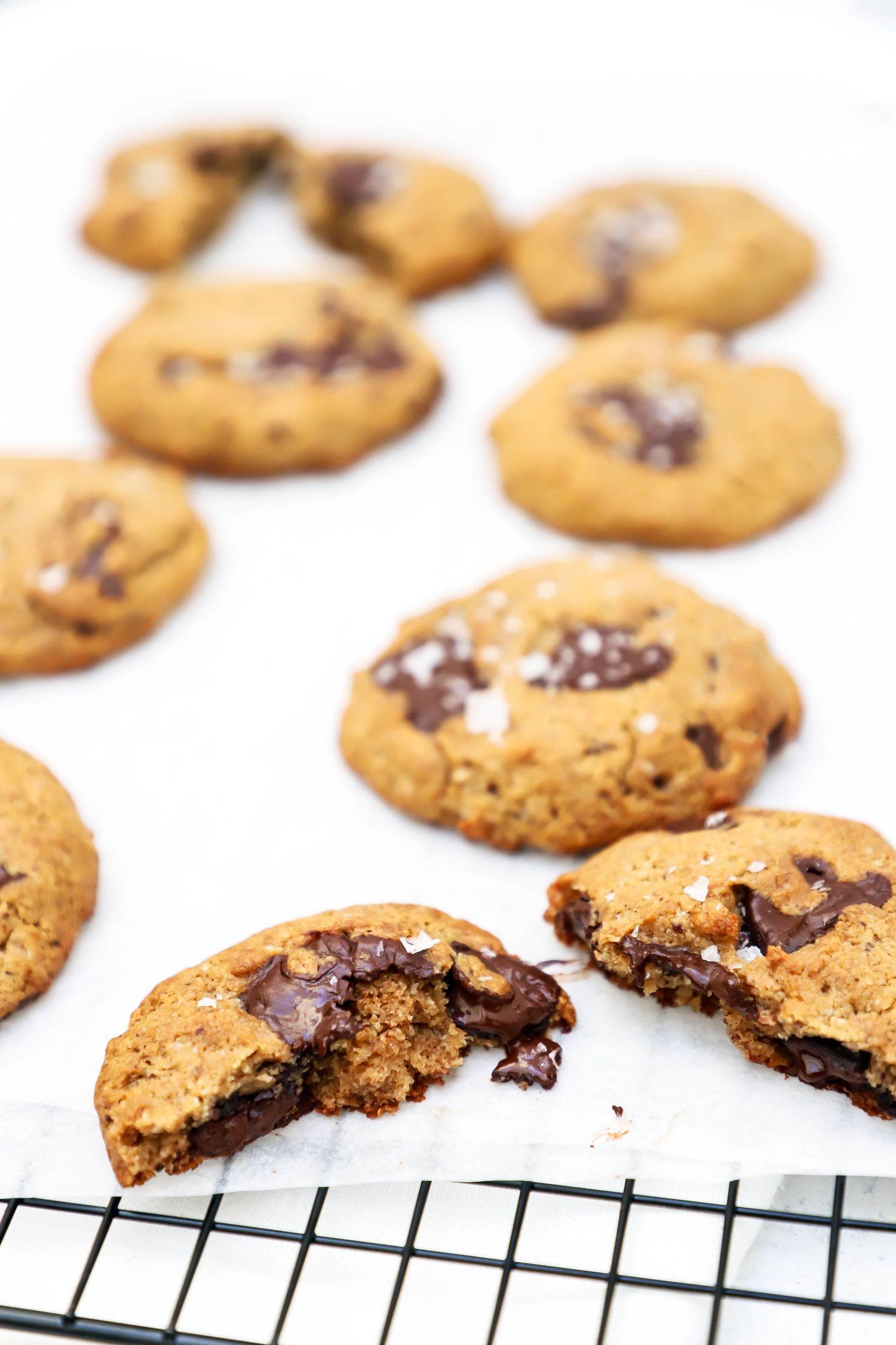 Vegan And Gluten Free Chocolate Chip Cookies