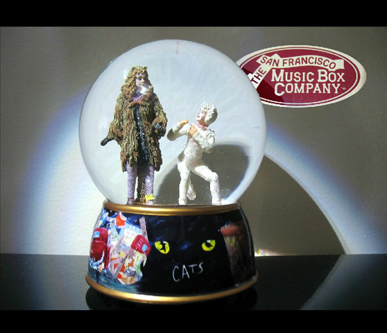 Cats Water Globes Available in our Ebay store planet11vintage