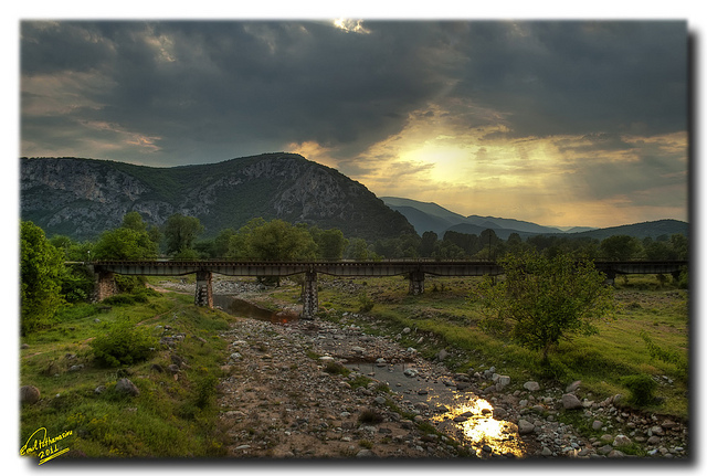 Railway bridge ... HDR