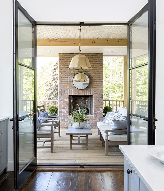 Extending The Joys Of Outdoor Living Archadeck Style: Photos : Maison Patrimoniale Au Style Néo-rustique