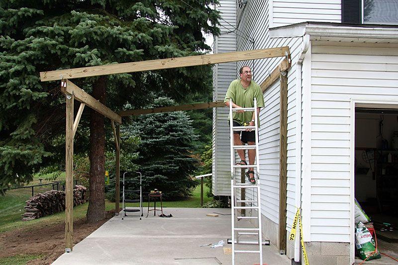 Carport (With images) Building a carport, Carport patio