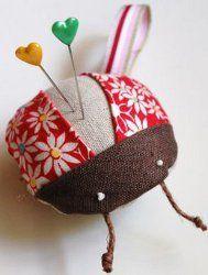 Bitty Bug Pincushion