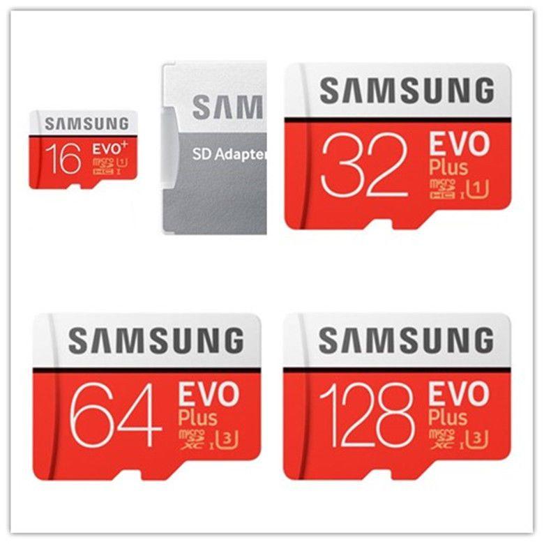 Samsung Evo Plus 16gb 32gbmicrosdhc 64gb 128gb Microsdxc Card With