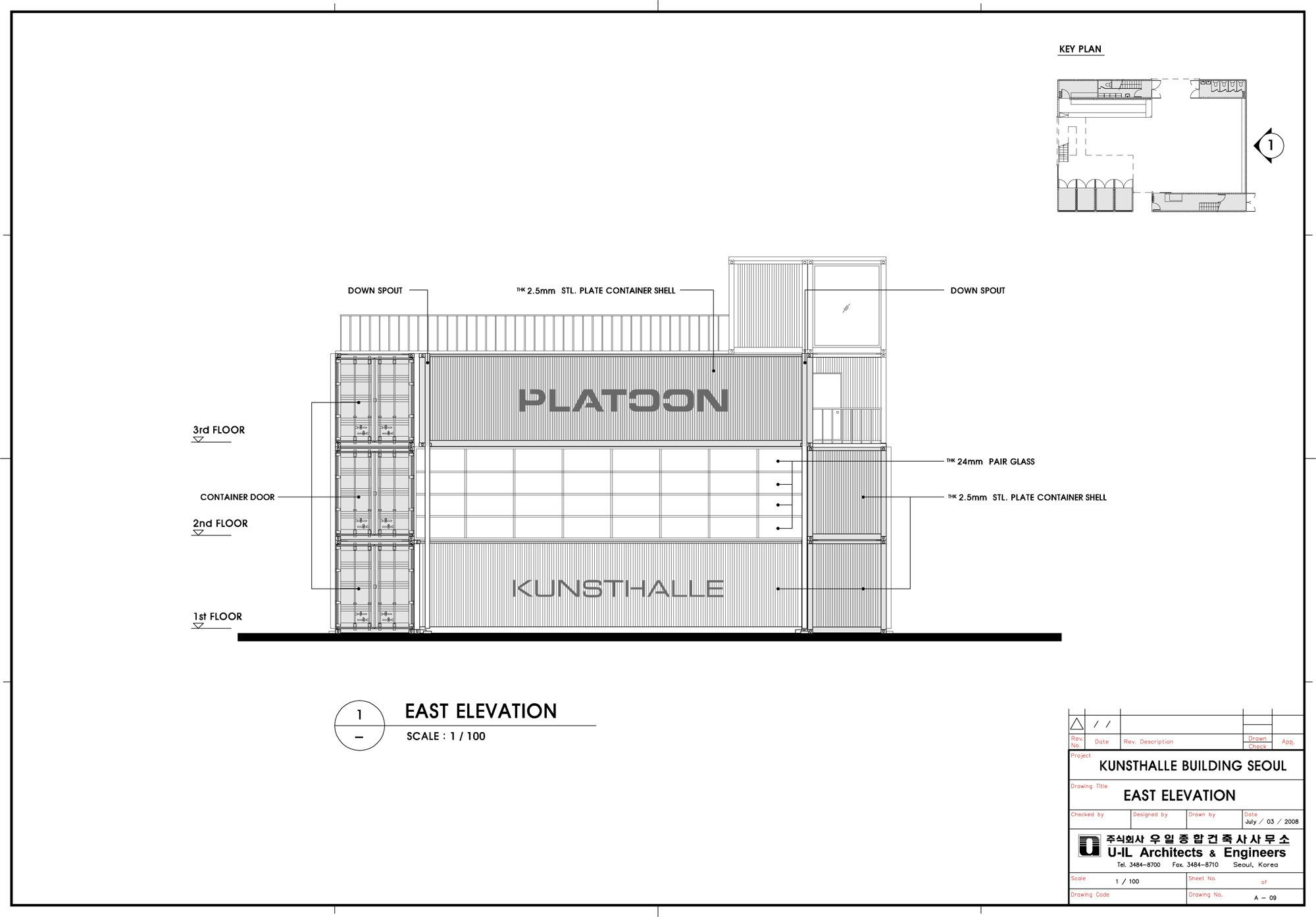 Image 23 Of 30 From Gallery Of Platoon Kunsthalle Platoon Graft Architects Architect Platoon Container Architecture