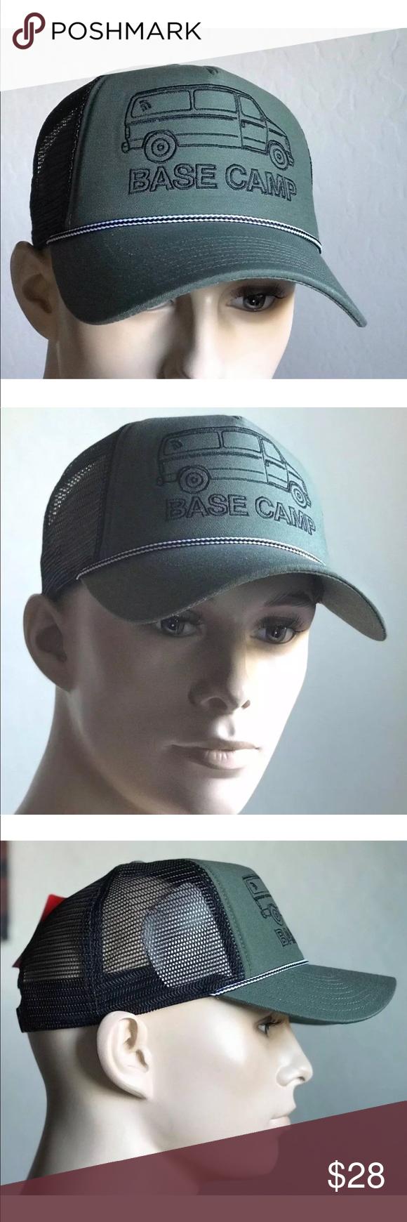 794fefcc9bc The North Face Men s Cross Stitch Trucker Hat AUTHENTIC The North Face  Cross Stitch Trucker Hat