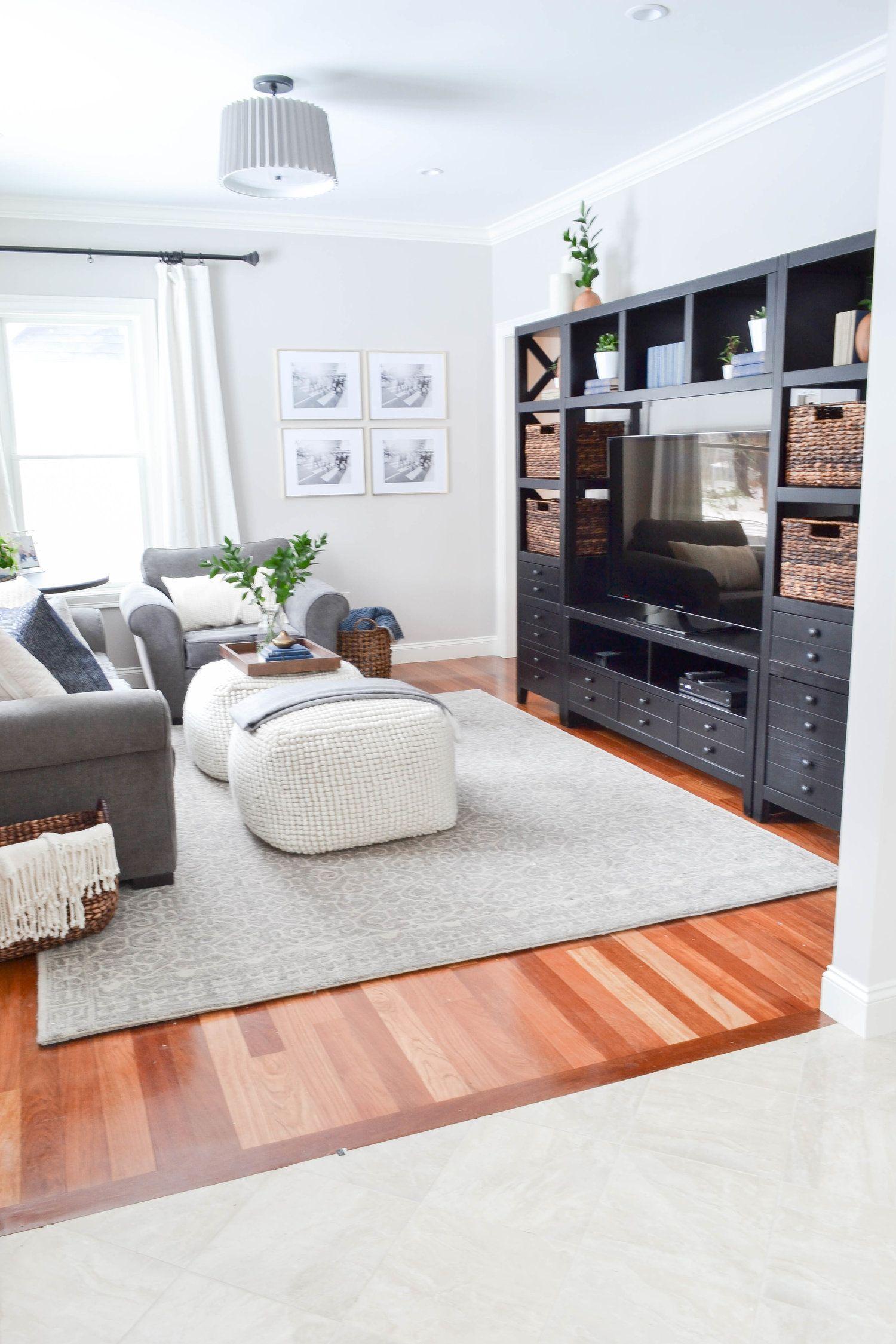 Gray Oak Studio Hutchins Project Living Room Modern Cozy