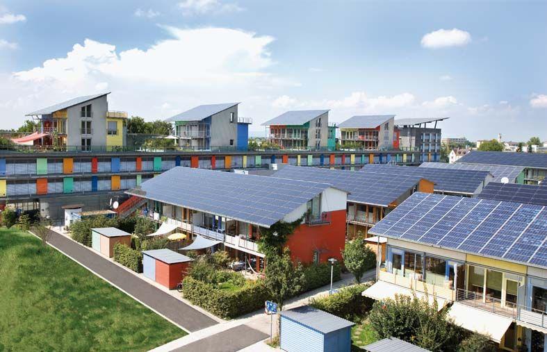 Popular Solarsiedlung Freiburg