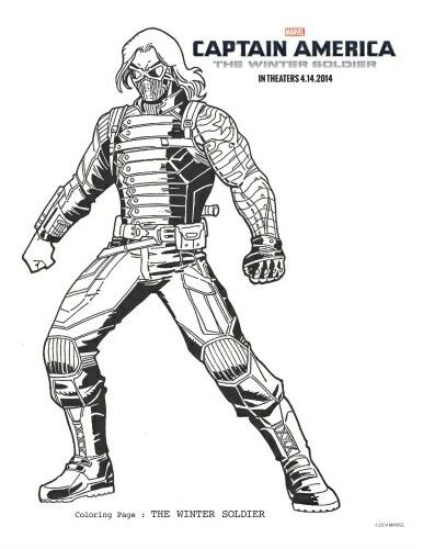 Coloring picture | Winter Soldier/Bucky Barnes/Sebastian Stan <3 ...