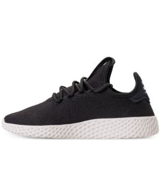 49fae996d229e adidas Boys  Originals Pharrell Williams Tennis Hu Casual Sneakers from  Finish Line - Black 6.5