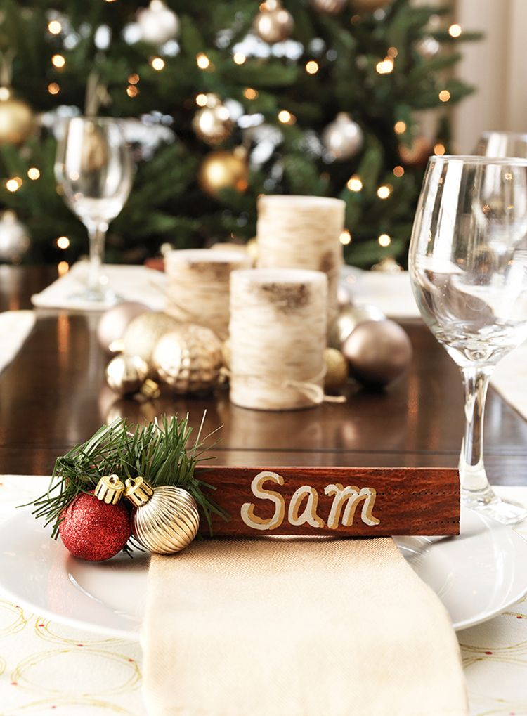 10 Quick Christmas Craft Ideas - The Home Depot   Easy ...