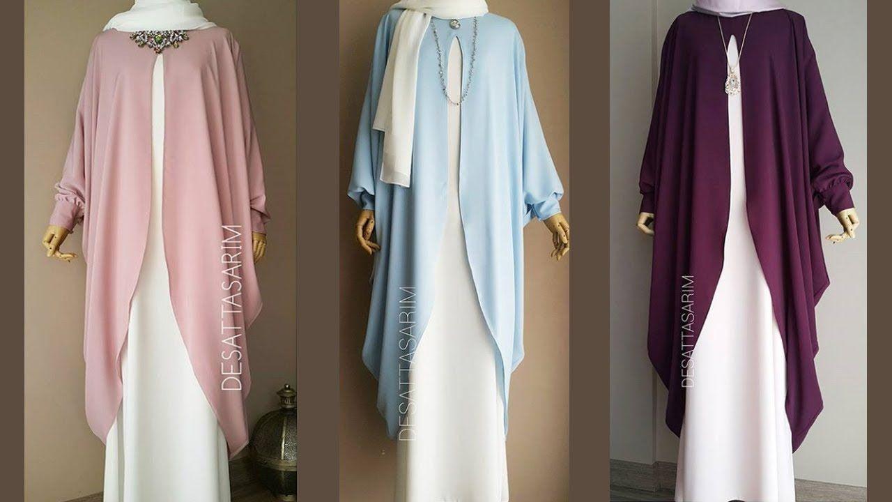 طريقة تفصيل عباية رائعة من قطعتين لأصحاب اللباس الشرعي Youtube Designer Anarkali Dresses Dresses Anarkali Dress