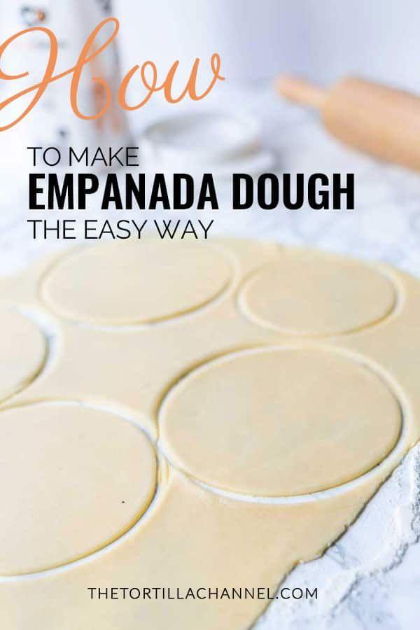 How to make empanada dough the easy way
