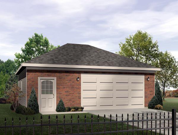 Garage Plan Chp 26081 At Coolhouseplans Com Garage Plans 2 Car Garage Plans Garage