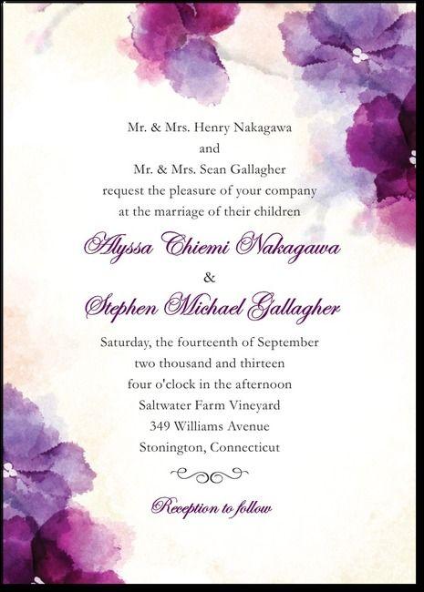 Soft BougainvilleaMajestic wedding Pinterest Bougainvillea - invitation unveiling
