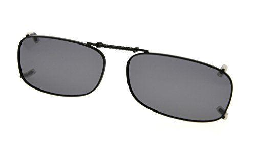 0c14a992ee Eyekepper Metal Frame Rim Polarized Lens Clip On Sunglasses 2