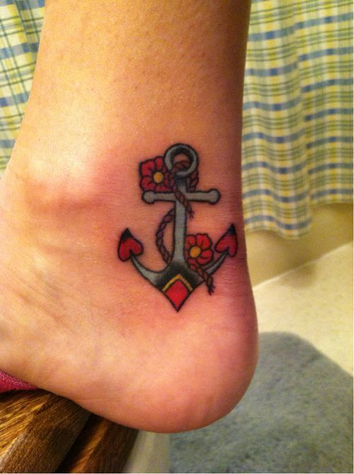 Tatuajes De Anclas Para Mujeres Y Su Significado Tatuajes