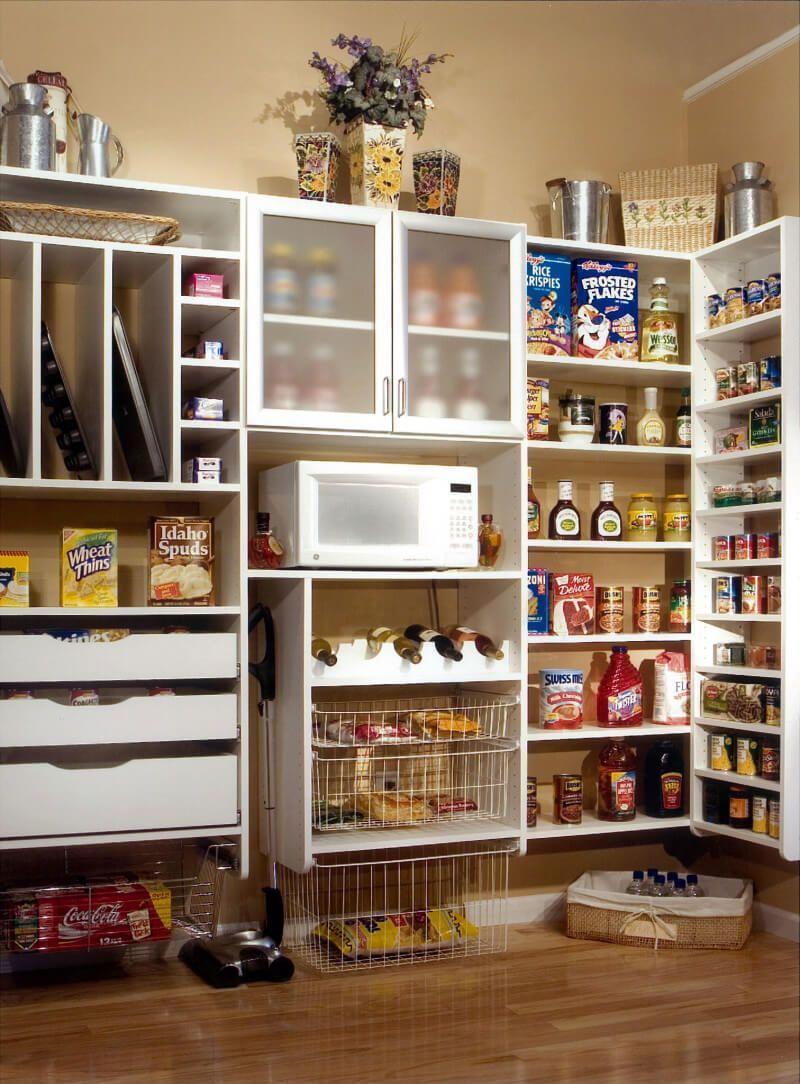 Atlanta Pantry Cabinet | Spacemakers Custom Closets