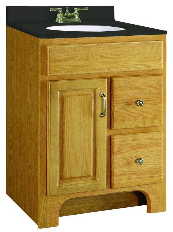 Design House 541128 Nutmeg Oak 24 Wood Vanity Cabinet Richland