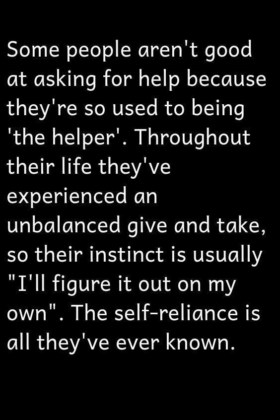 Photo of Asking for help