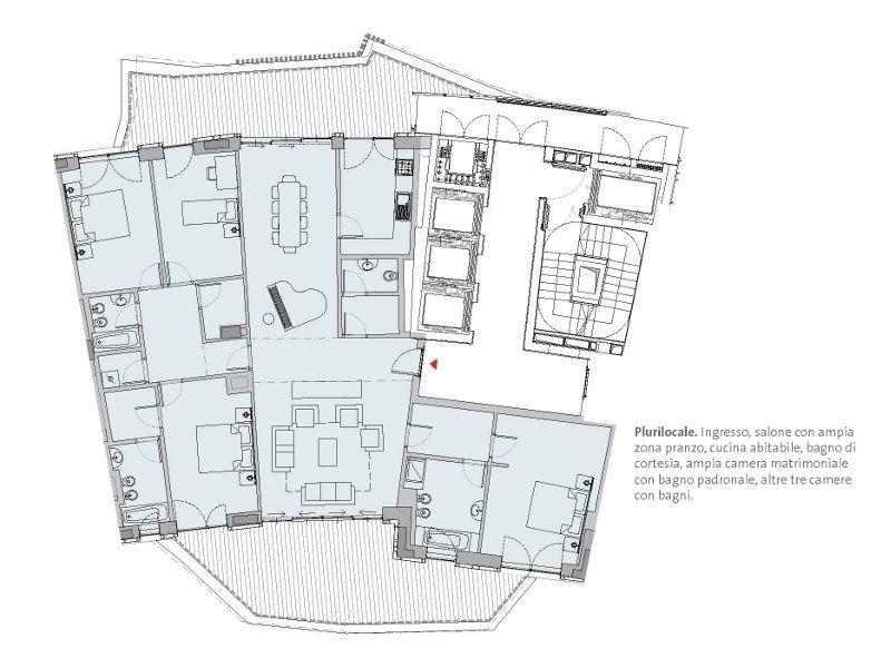 Residenze Libeskind - CityLife - milano che cambia - Ordine degli - plan 3 k che
