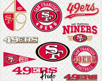 San Francisco 49ers Svg Football 49ers Clipart San Francisco 49ers Football Clipart Silhouette S San Francisco 49ers San Francisco 49ers Football Francisco