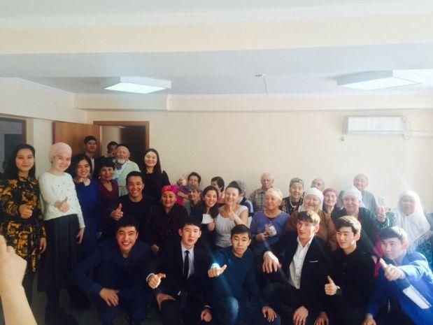 Студенты провели благотворительный концерт в доме престарелых дом призрения престарелых женщин