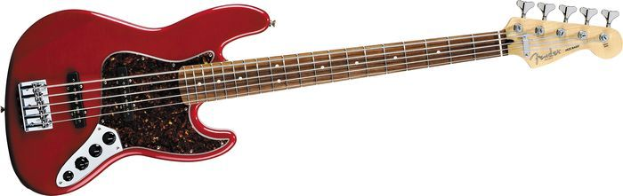 Midnight Wine Fender Jazz 5 String This Is My Current Main Bass For Playing