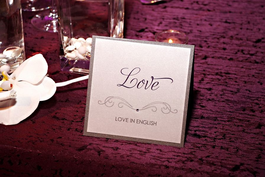 Each Table Has The Word Love In Different Languages Love This Http