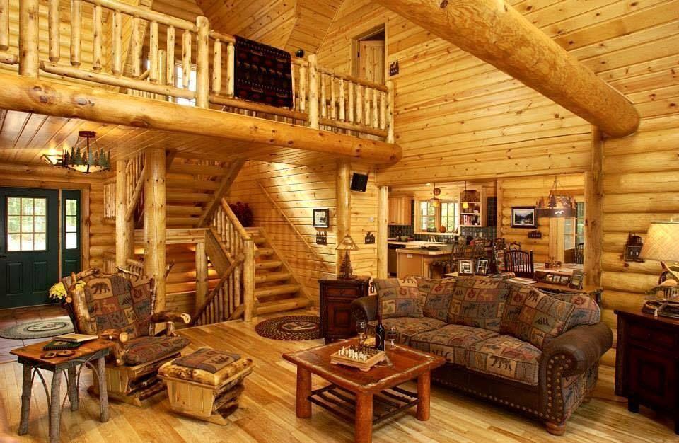 Einrichtungsstile Log Homes House Log Home Interiors